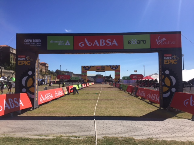 Cape Epic 2018 Finish Line