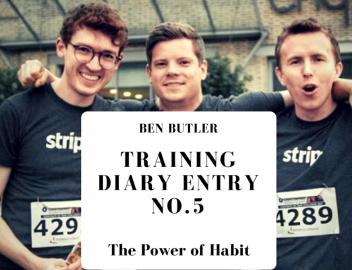 Ben Butler Training Diary 2018 Entry No. 5: The Power of Habit